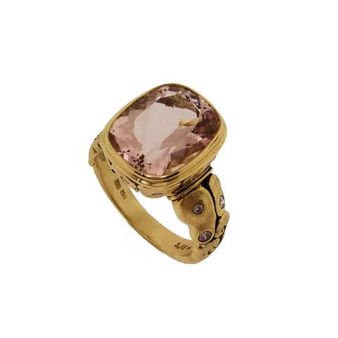 Alex Sepkus Morganite and Diamond