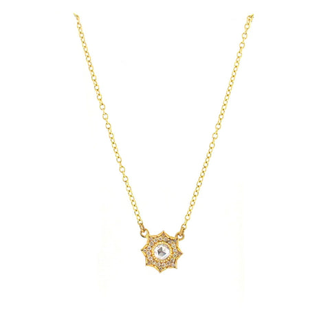 Arman Sarkisyan 22K Gold and Diamond Louiza Pendant