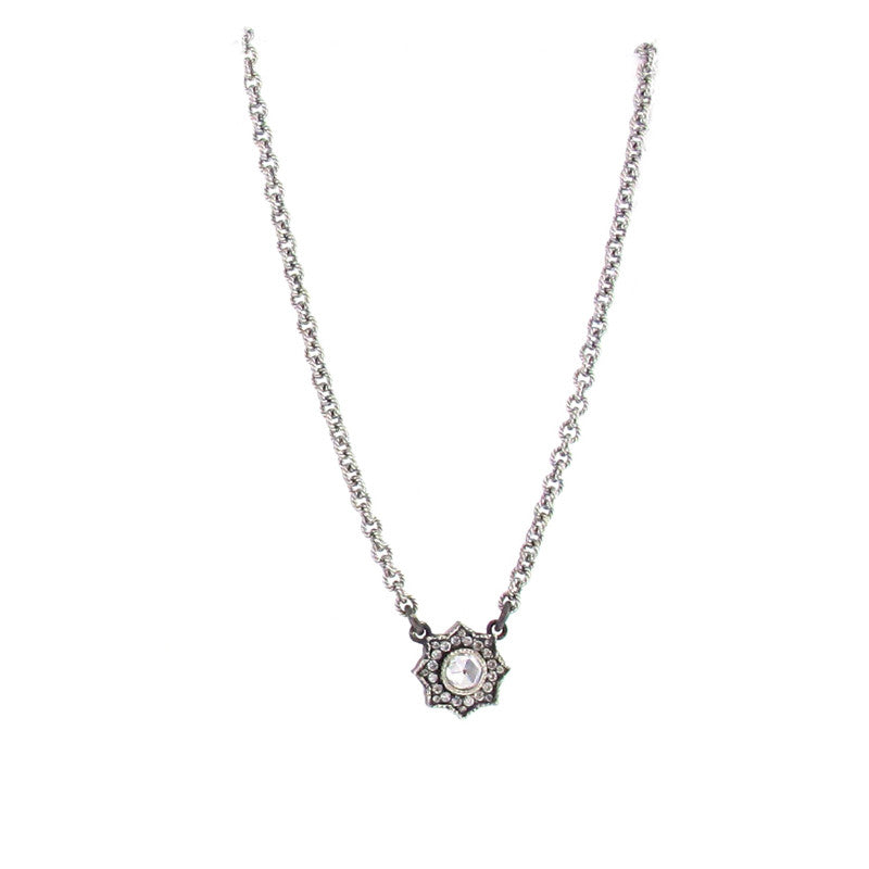 Arman Sarkisyan Sterling Silver and Diamond Louiza Pendant