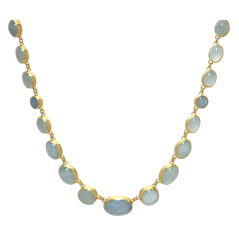 Gurhan One-of-a-Kind Aquamarine Necklace