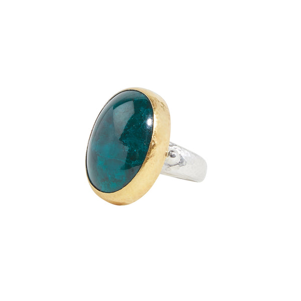 Gurhan One-of-a-Kind Copper Emerald Ring
