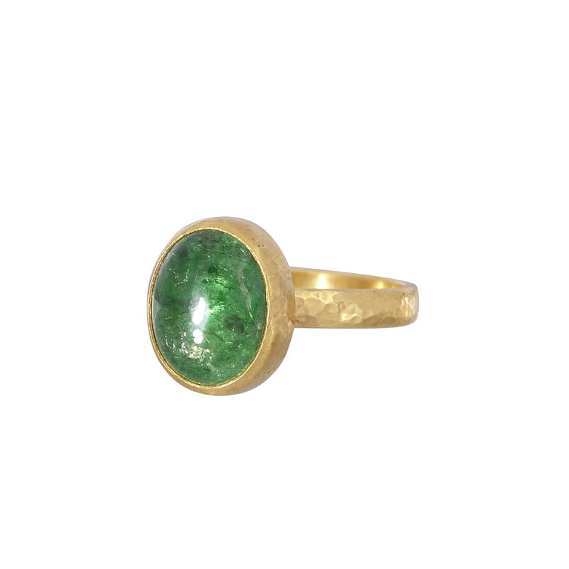 Gurhan One-of-a-Kind Oval Tsavorite Ring