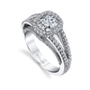 Harry Kotlar Diamond and Platinum Ring