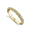 Harry Kotlar Diamond and 18K Yellow Gold Eternity Band