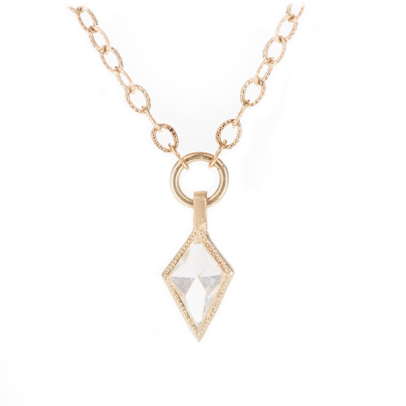Jennifer Dawes Design Blockette Kite Diamond Necklace