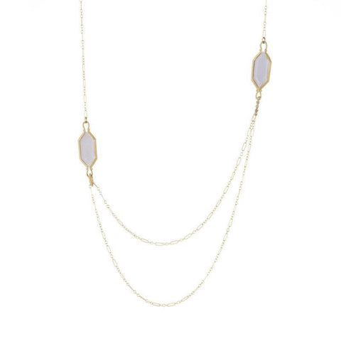 Jennifer Dawes Design Drape Moonstone Necklace