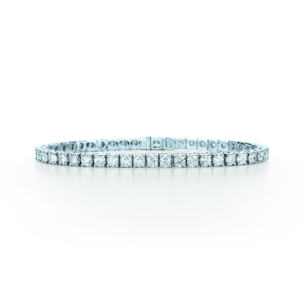 Kwiat Diamond and 18K White Gold Line Bracelet