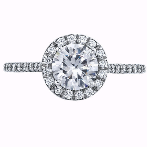 Mark Patterson Diamond Platinum Ring