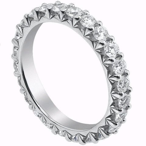 Mark Patterson Diamond and Platinum Eternity Band