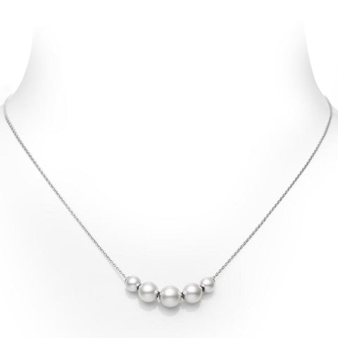 Mikimoto Pearls in Motion Akoya Cultured Pearl Pendant - 18K White Gold