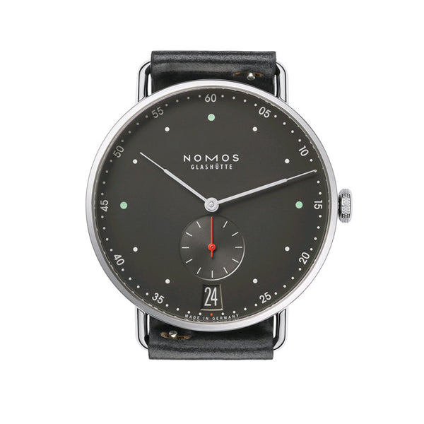 Nomos Metro 38 Datum Stainless Steel Wristwatch NO-1103