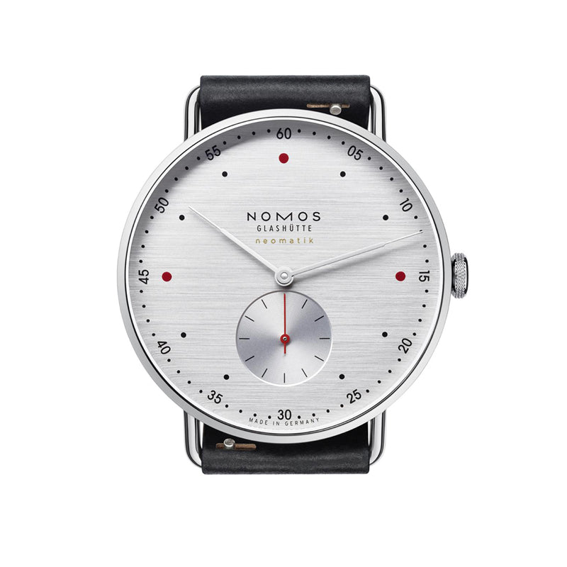 Nomos Metro Neomatik 39 Silvercut Stainless Steel Wristwatch NO-1114