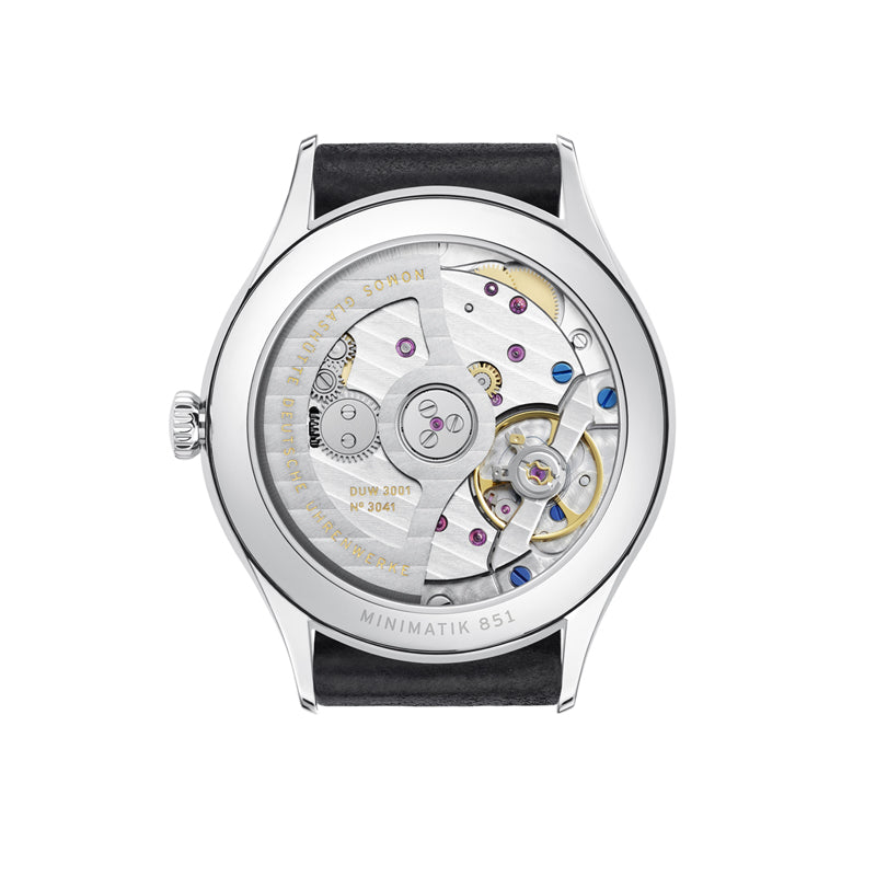Nomos Minimatik Stainless Steel (back of watch) Ref. 1203