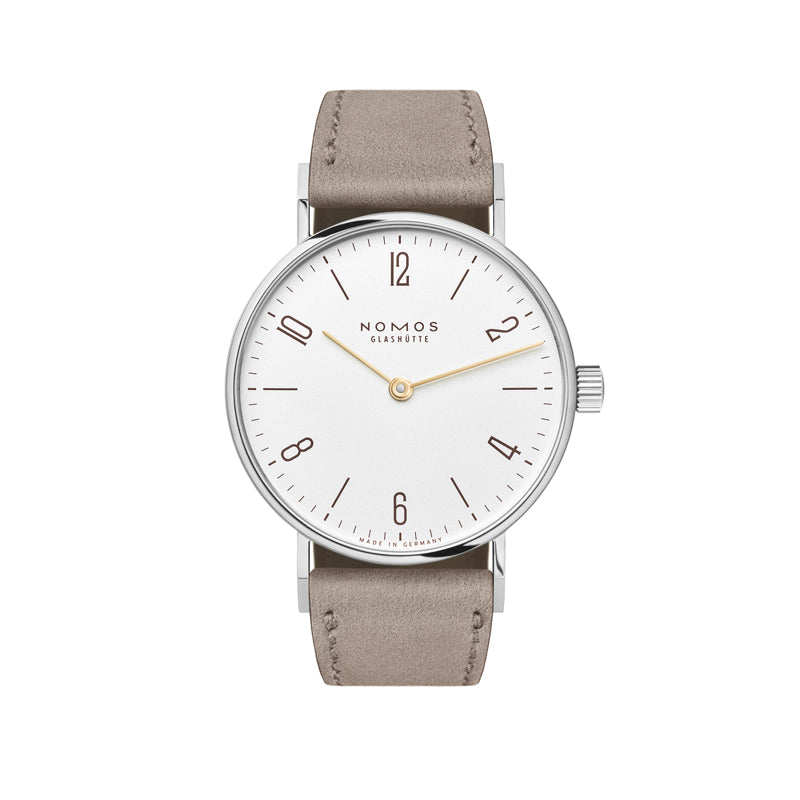 Nomos Tangente 33 Duo Stainless Steel Watch Ref. 127 with gold watch hands