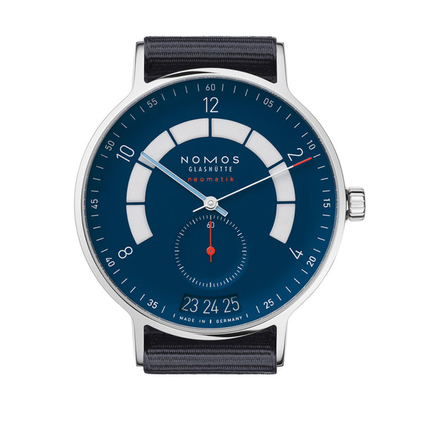 Nomos Autobahn Neomatik 41 Date Midnight Blue watch Ref. 1302