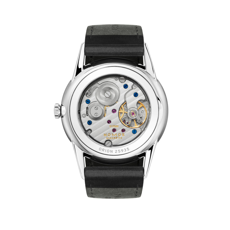 Nomos Orion Stainless Steel (back of watch) Ref. 309