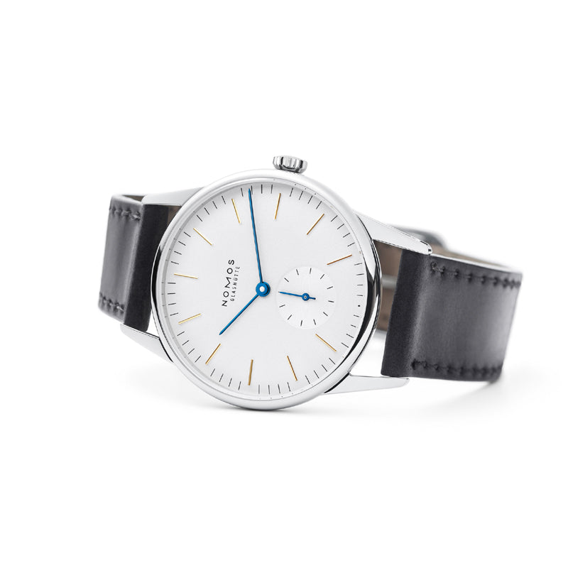 Nomos Orion Stainless Steel Watch on side Ref. 309
