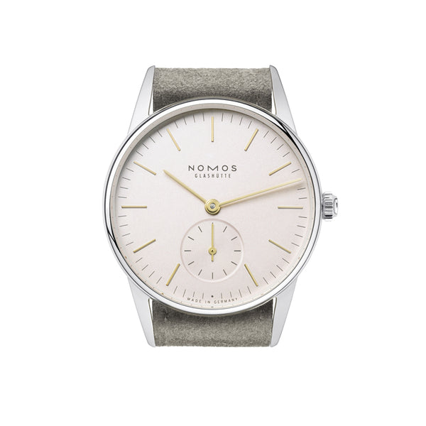 Nomos Orion 33 Rose Stainless Steel Wristwatch NO-325