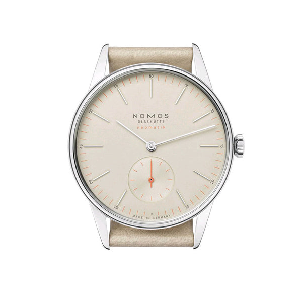 Nomos 1st Edition Neomatik Champagne Orion Stainless Steel Wristwatch NO-391