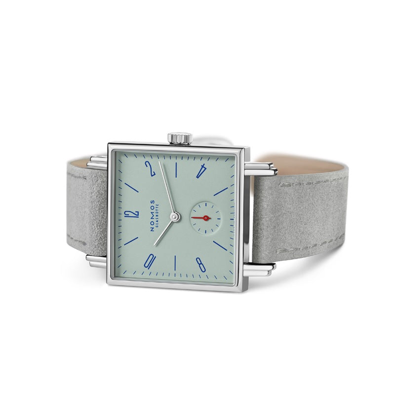 Nomos Tetra Matcha Stainless Steel Watch Ref. 495 on side