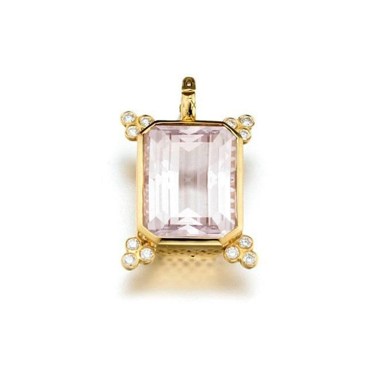 Ray Griffiths Amethyst, and 18K Gold Pendant
