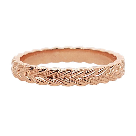 Sethi Couture 18K Rose Gold Woven Band