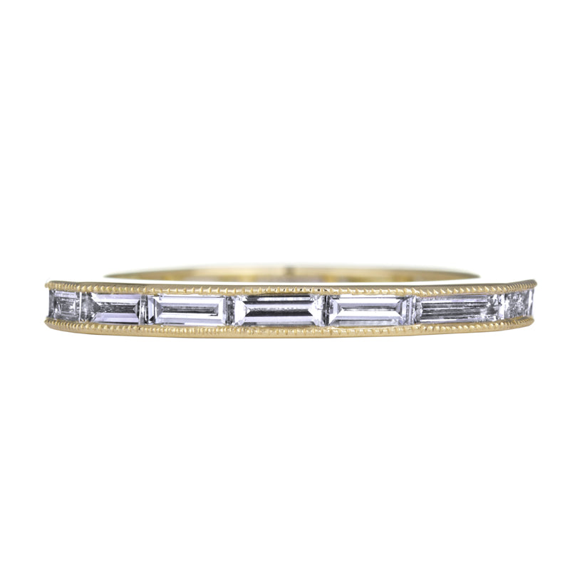 Sethi Couture 18K Yellow Gold Baguette Diamond Eternity Band
