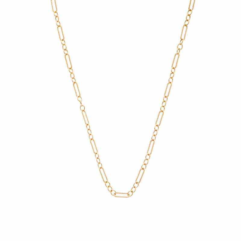 Sethi Couture 18K Rose Gold Figaro Chain