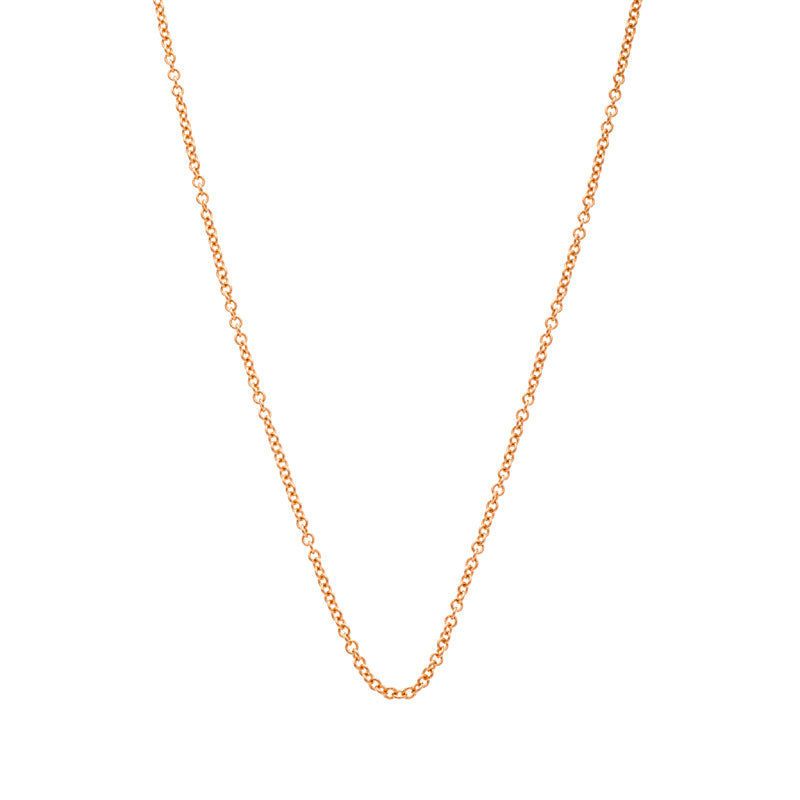 Sethi Couture 18K Rose Gold Oval Link Chain
