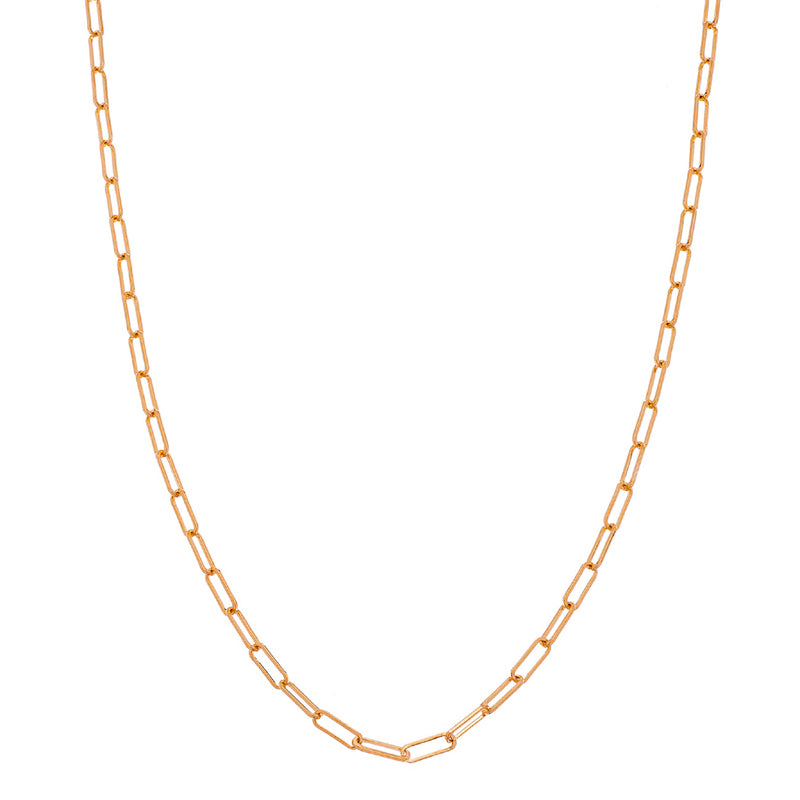 Sethi Couture 14K Rose Gold Paper Clip Chain