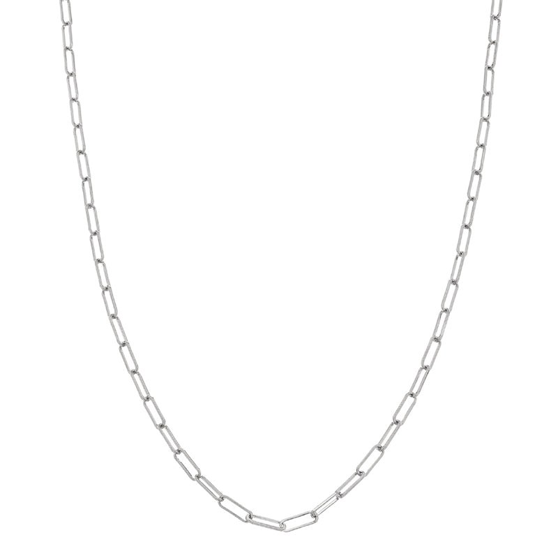 Sethi Couture 14K White Gold Paper Clip Chain