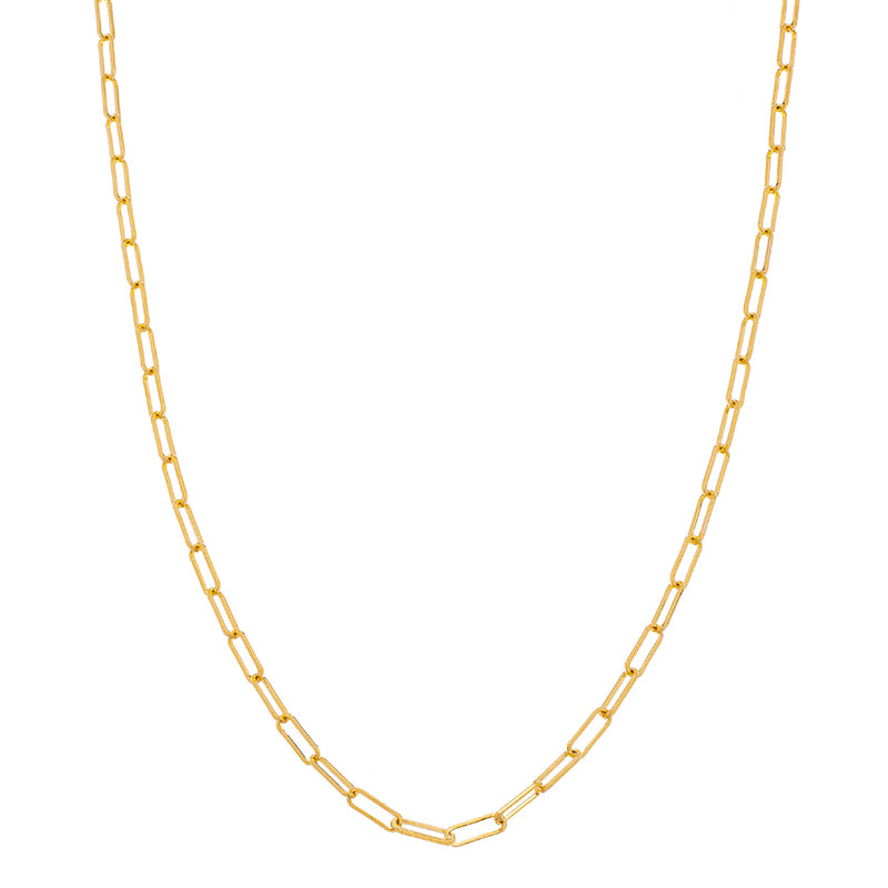 Sethi Couture 14K Yellow Gold Paper Clip Chain