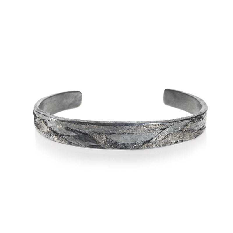 Todd Reed Palladium and Sterling Silver Men's Cuff Bracelet