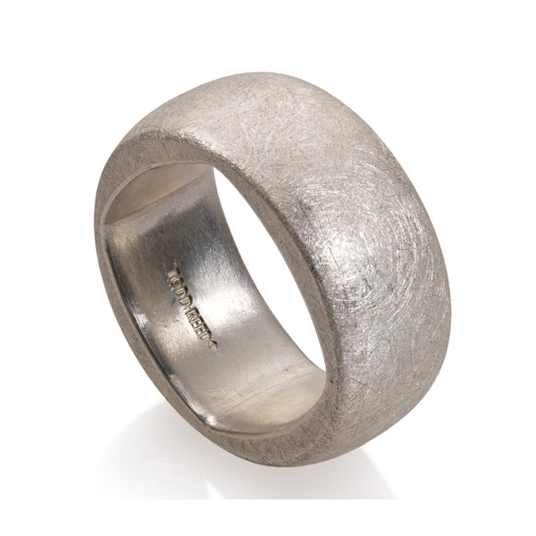 Todd Reed Domed Sterling Silver Band
