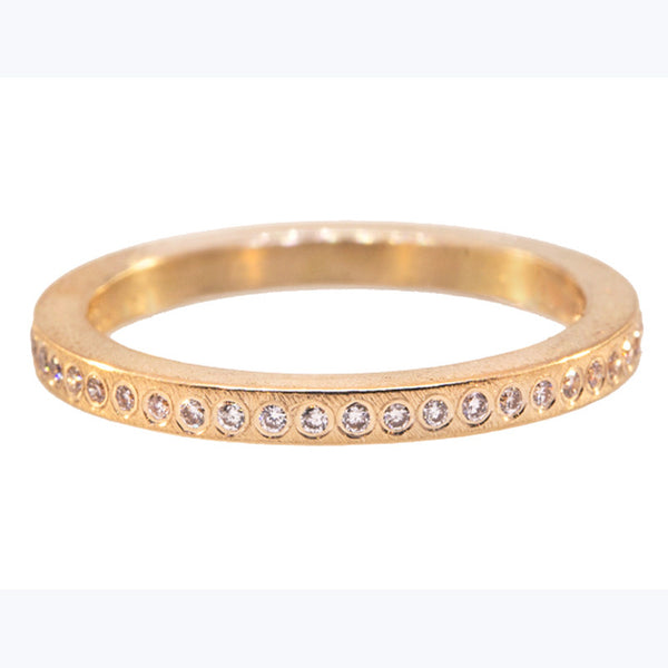 Todd Reed Diamond and 18K Rose Gold Band