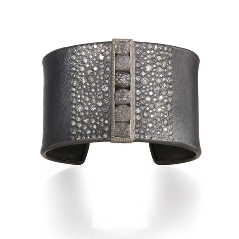 Todd Reed One-of-a-Kind Raw Diamond Cuff Bracelet
