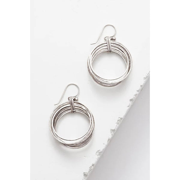 Zuzko Jewelry Silver Nested Earrings