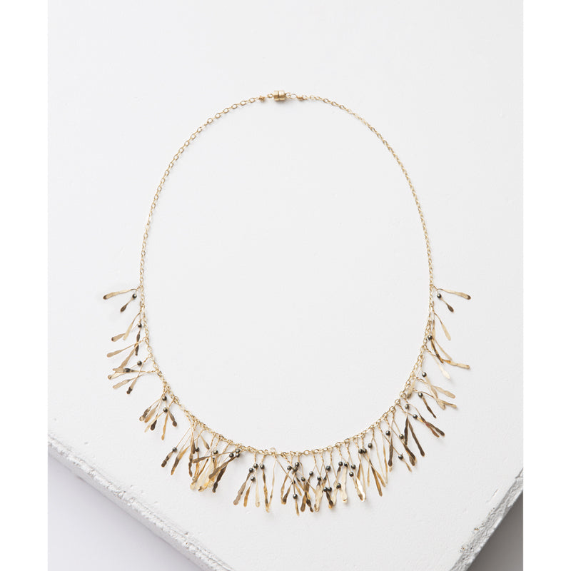 Zuzko Jewelry Gold Filled Boa Necklace