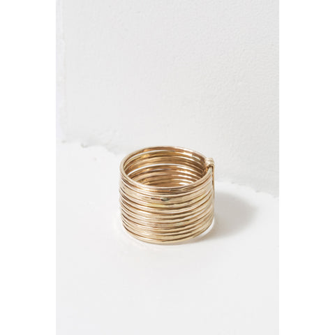 Zuzko Jewelry Gold Filled Stacked Ring