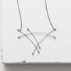 Zuzko Jewelry Sterling Silver Sail Necklace
