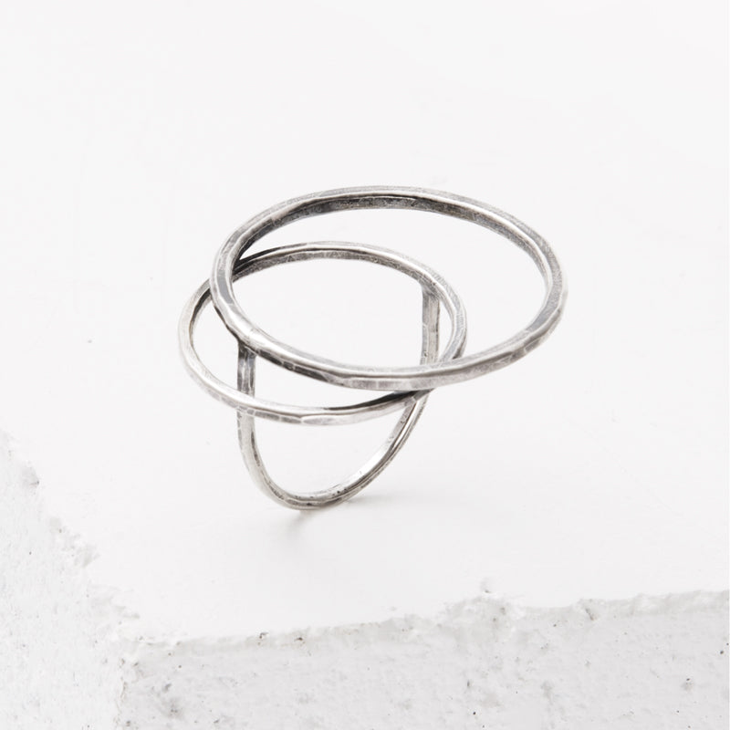 Zuzko Jewelry Sterling Silver Tides O-Ring