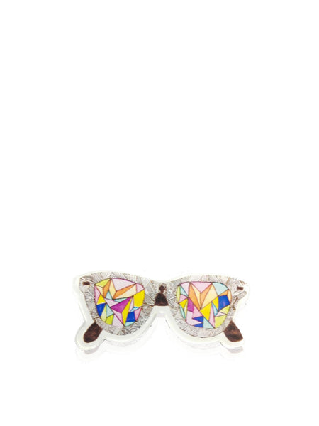 Color Sunglasses Brooch