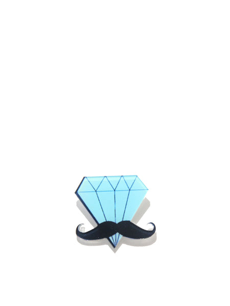 Mr Diamond Brooch