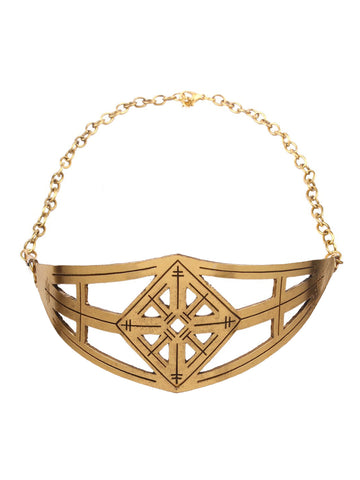 Gold Metal Choker