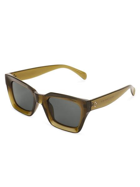 Square Brown Sunglasses