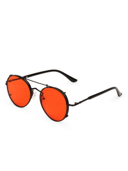 Pilot Red Removable Sunglasses