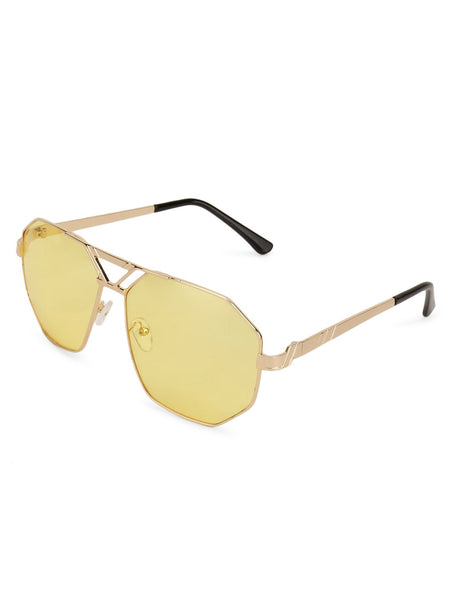 Pilot Yellow Sunglasses