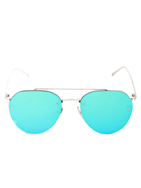Frameless Double Bridge Sunglasses