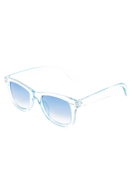 Blue Transparent Sunglass