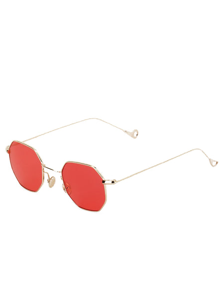 Square Red Sunglasses
